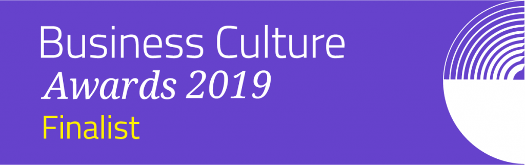 Cultr and TAC are double finalist in the Business Culture Awards 2019